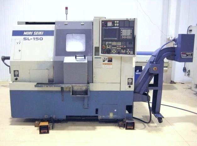 CNC TURNING CENTERS: MORI SEIKI SL-150 SMC CNC LATHE, FANUC