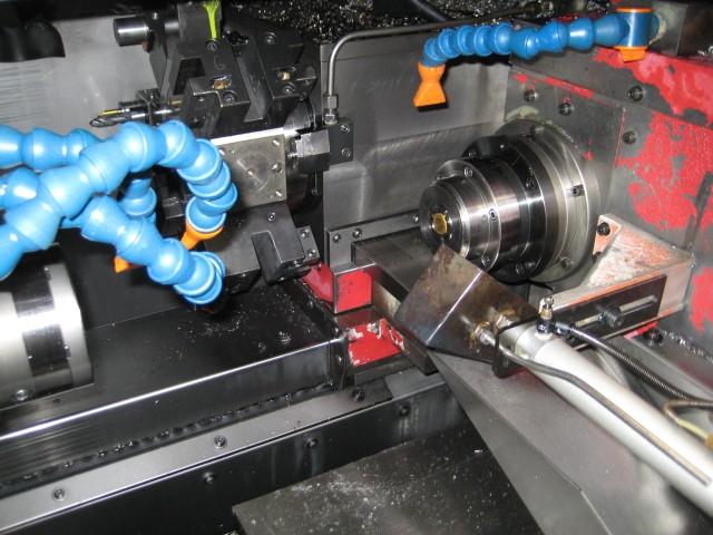 CNC TURNING CENTERS: MIYANO BND-34S CNC LATHE, FANUC OTC, 12