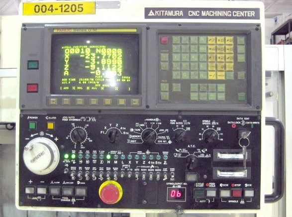 Cnc Vertical Machining Centers Kitamura Mycenter 3x Cnc