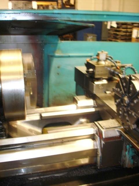 CNC TURNING CENTERS: MAZAK POWER MASTER 1500 U CNC LATHE, 31