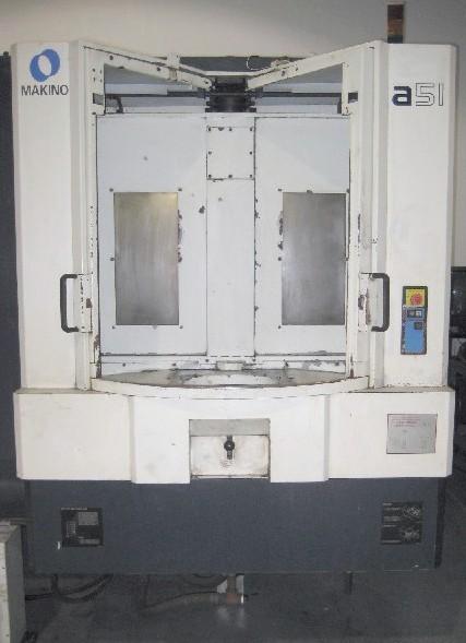Cnc Horizontal Machining Centers Makino A51 Cnc