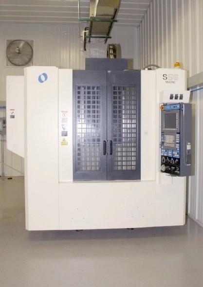 cnc vertical machining centers makino s56 cnc mill fanuc pro 5 rh mwmachinery com Makino Machining Centers Makino Mill