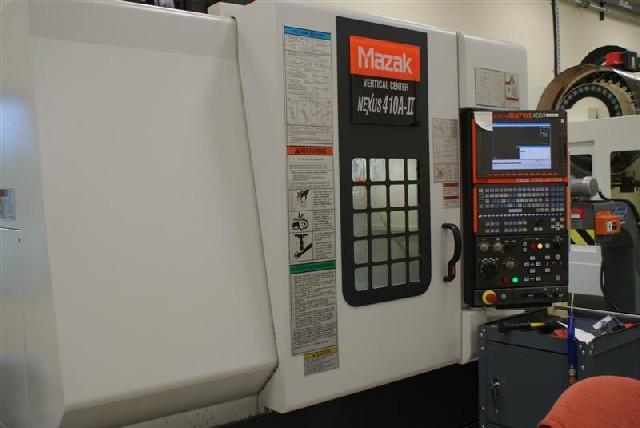 CNC VERTICAL MACHINING CENTERS: MAZAK NEXUS 410A-II CNC MILL