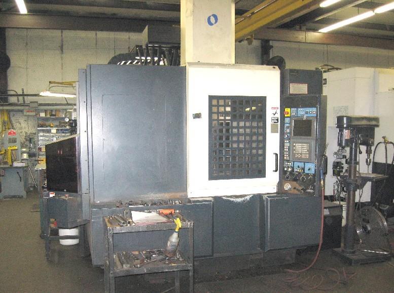cnc vertical machining centers makino v55 cnc mill 20000 rpm 35 4 rh mwmachinery com Makino Cincinnati Makino A55