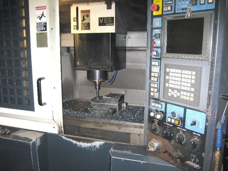 cnc vertical machining centers makino v55 cnc mill 20000 rpm 35 4 rh mwmachinery com Makino V5.5 Dimensions Makino V5.5 Dimensions