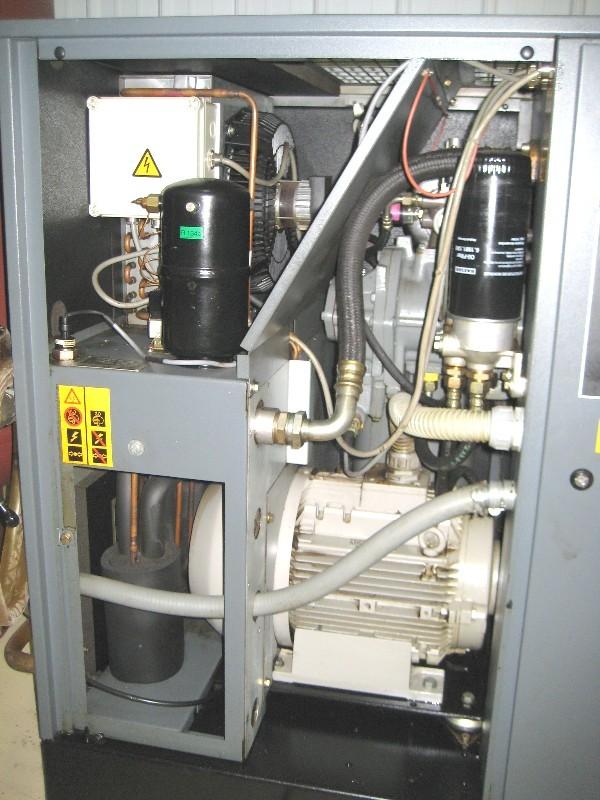 Air Compressors Atlas Copco Ga18 Air Compressor 25hp