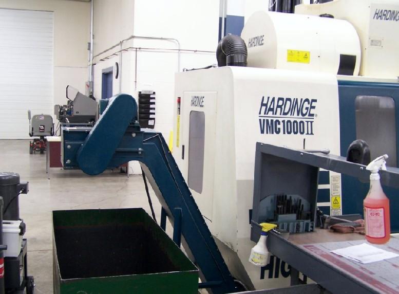 CNC VERTICAL MACHINING CENTERS: HARDINGE VMC-1000 II APC