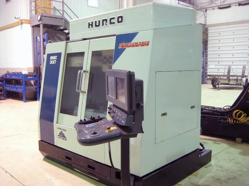 CNC VERTICAL MACHINING CENTERS: HURCO BMC-3017 CNC MILL