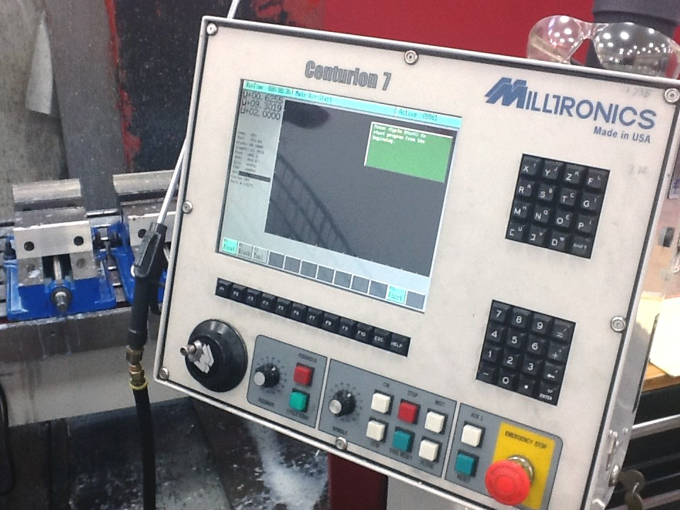 Cnc Vertical Machining Centers  Milltronics Rh