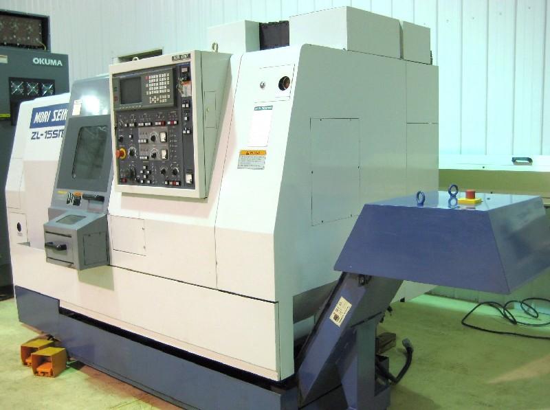 CNC TURNING CENTERS: MORI SEIKI ZL-15 SMC CNC LATHE, FANUC