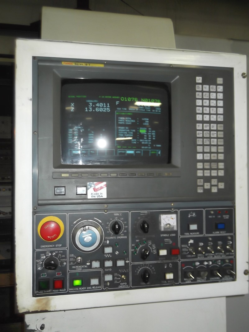 Cnc Turning Centers Daewoo Puma 450 Cnc Lathe Fanuc 18t