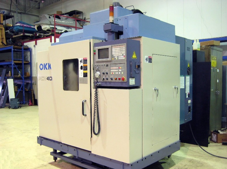 Cnc Vertical Machining Centers Okk Pcv 40 Ii Cnc Mill 22