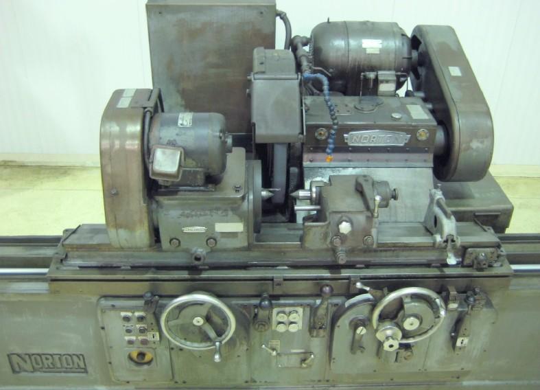 Grinders  10 X 36 Norton Ctu Automatic Cylindrical Grinder