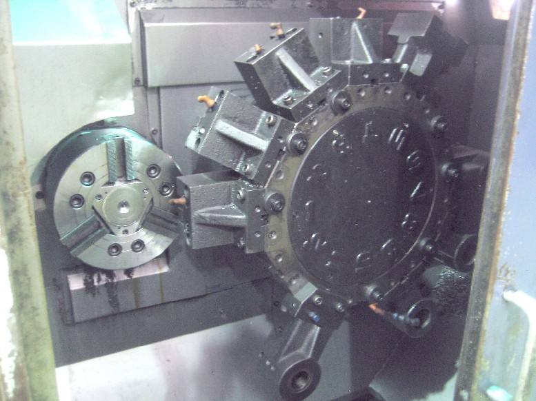 Cnc Turning Centers Hwacheon Ttc 10 Twin Spindle Amp Dual