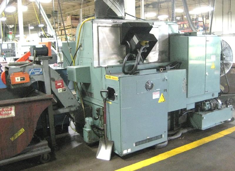 CNC TURNING CENTERS: MORI SEIKI SL-3 H CNC LATHE, 22 SW, 24