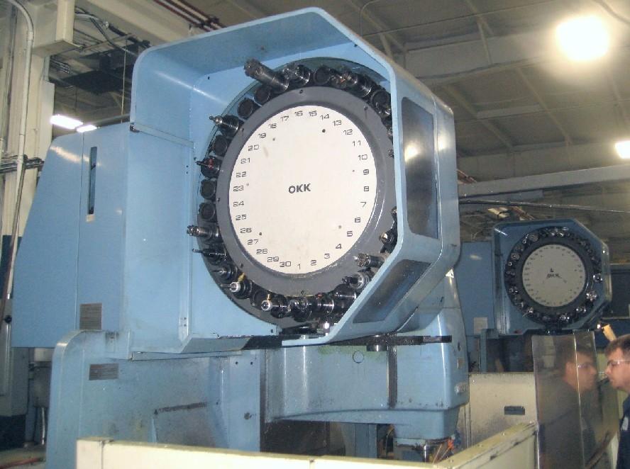 Cnc Vertical Machining Centers Okk Mcv 650 Cnc Mill 60 X