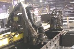 CNC PLASMA CUTTERS: ESAB SABRE 3000 CNC PLASMA CUTTING, VISION 2000 CTRL, 12 x 51, 2 PLASMA, 5 OXYFUEL TORCHES, '96 (4500), Click to view larger photo...